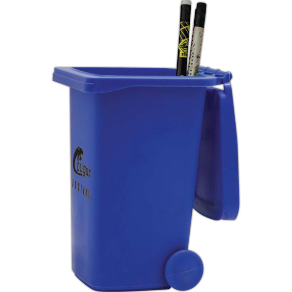 Trash Can Pencil Holder
