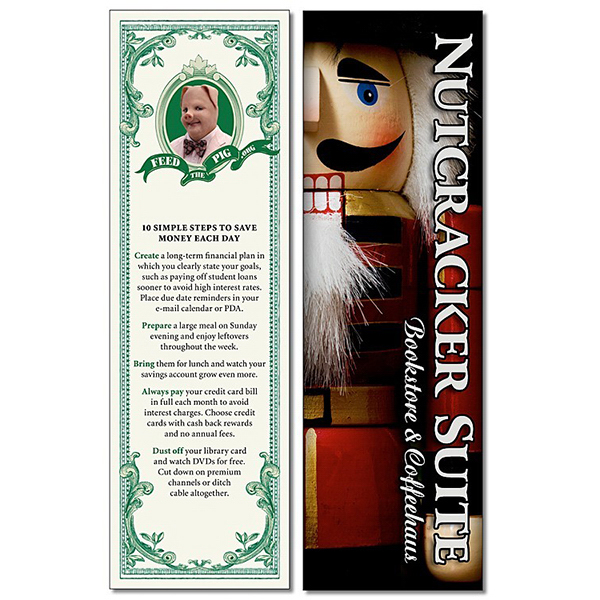 Personalized Bookmark - 2.25 x 7.25 Laminated - 14 pt