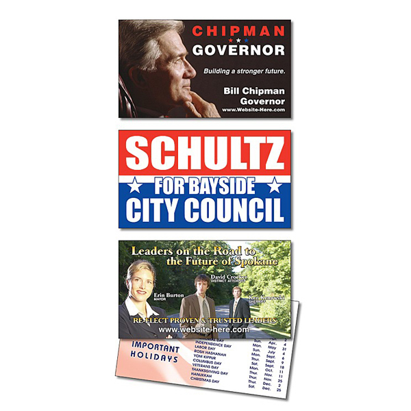 Promotional Political Laminated Business Card - 3.5 x 2 (2-Sided)