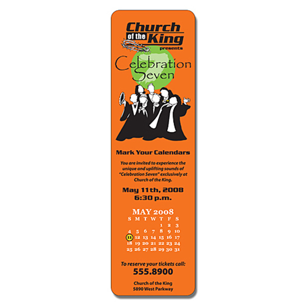 Printed Religious Laminated Bookmark - 2.5 x 8.5 Rectangle