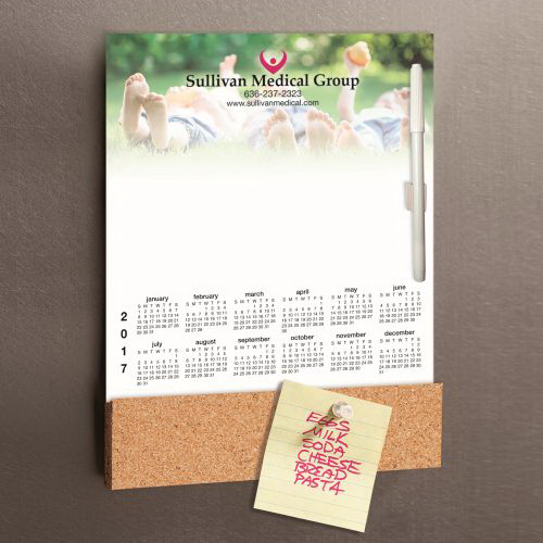 Magnetic Cork Memo Board