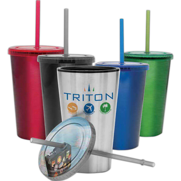 Customized Bermuda Collection Stainless Steel Tumbler