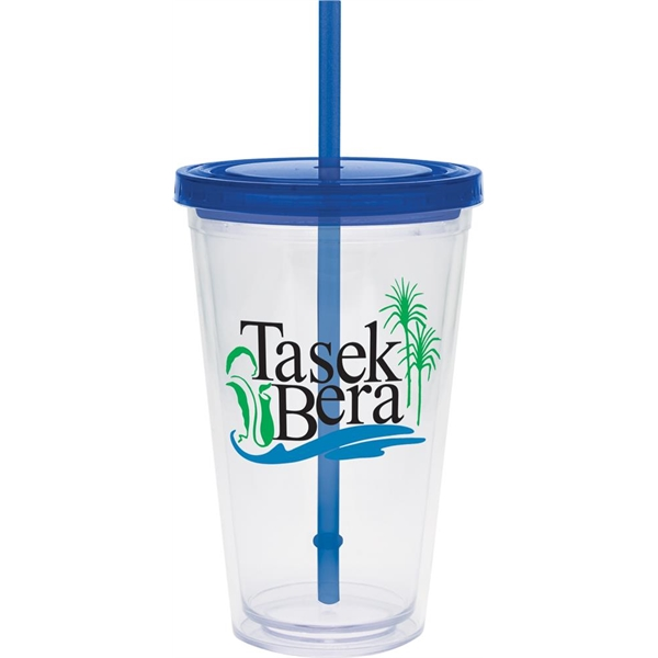 Carnival Cup - Color Straw, Color Lid