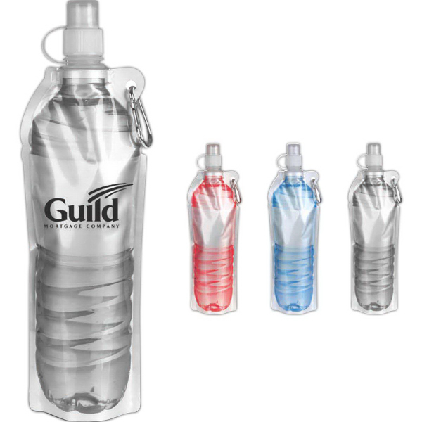 18 oz. Foldable Water Bottle