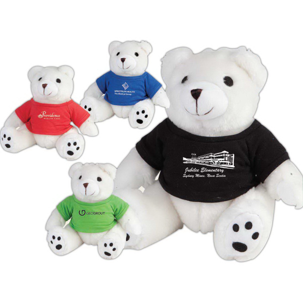 Mr. Snuggles Plush Teddy Bear With T-Shirt