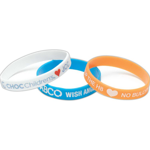 Silicone Wrist Band-Printed