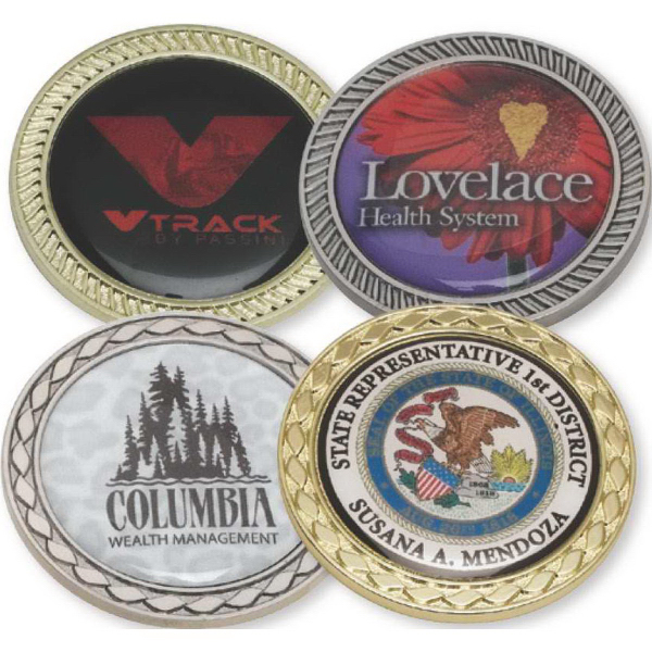 Imprinted Challenge Coins - In Stock