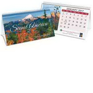 Scentic Executive Desk Tent Calendar