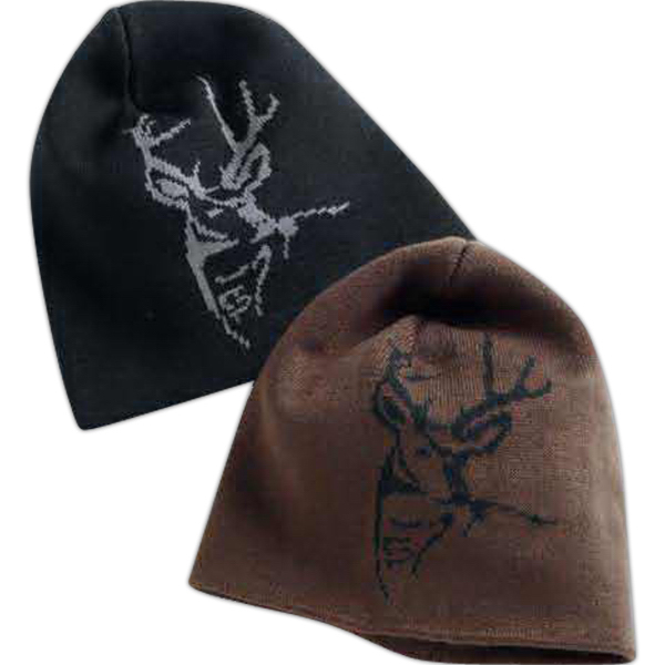 Imprinted Dri-Duck wildlife knit cap