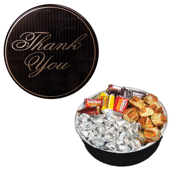 The Royal Tin with Hershey Chocolates - Thank You Design
