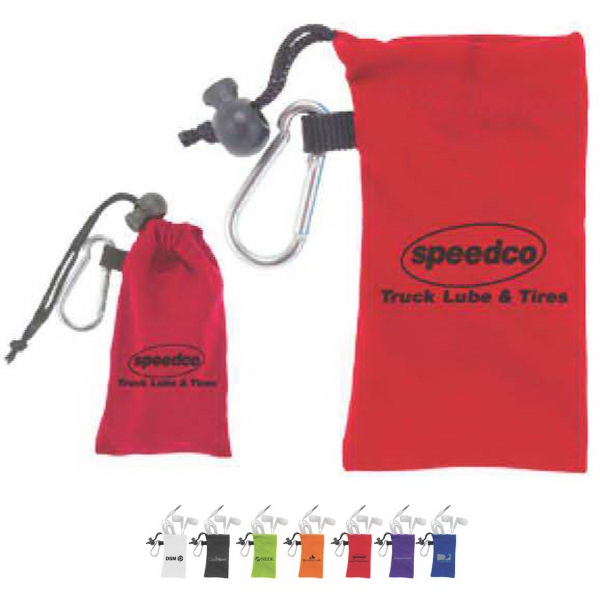 MicroFiber Ear Bud and Pouch