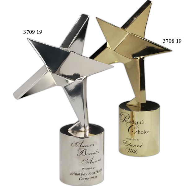 Personalized Signature Series Nova Star Award with Base