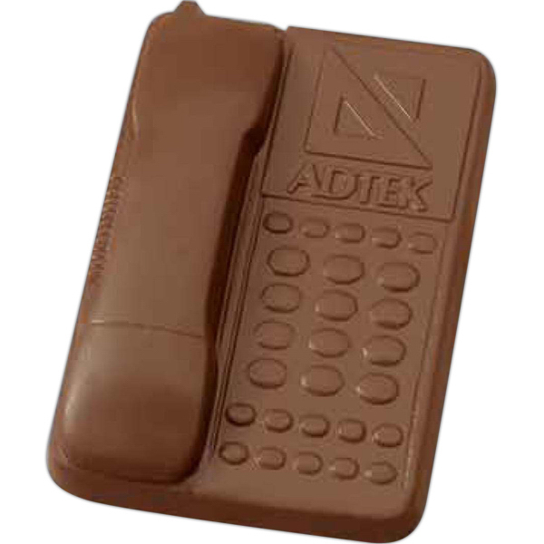 Custom Molded chocolate desk phone
