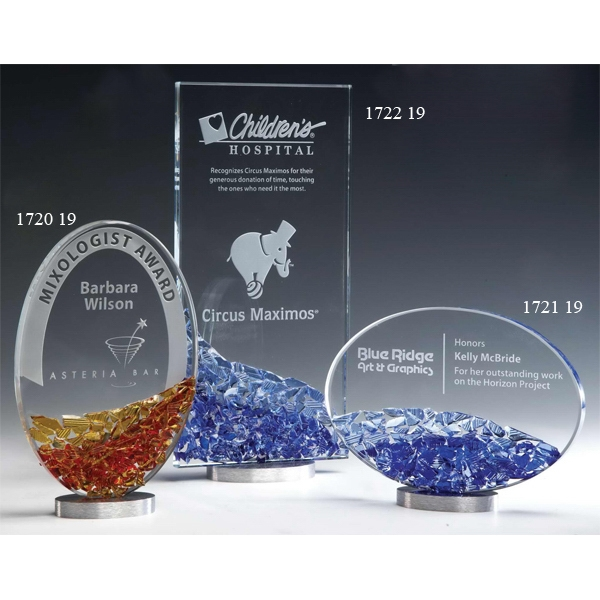 Promotional Mosaic Glass StarFire Award