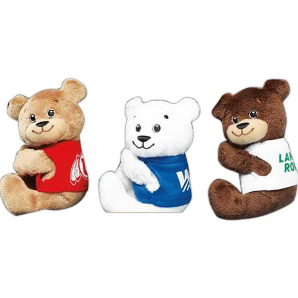 "Tach-It Bear (TM) 5"" stuffed bear"