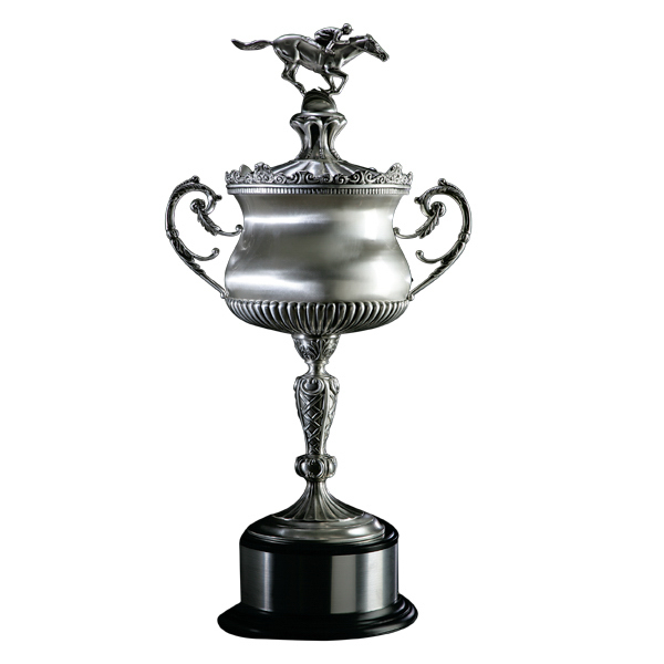 Imprinted Silver-Plated Award Cup