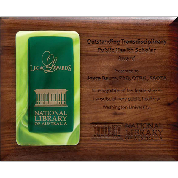 Promotional Tourmaline Fusion on Plaque