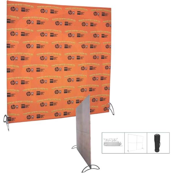 Imprinted Replacement Straight Flatwall Backdrop Banner