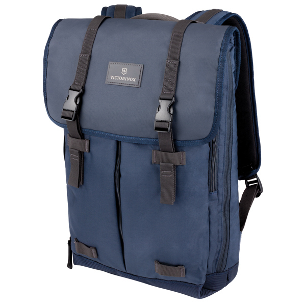 Imprinted Flapover Laptop Backpack