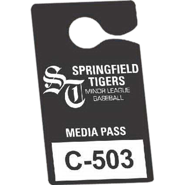 Printed Durable Plastic Hanging Parking Permit