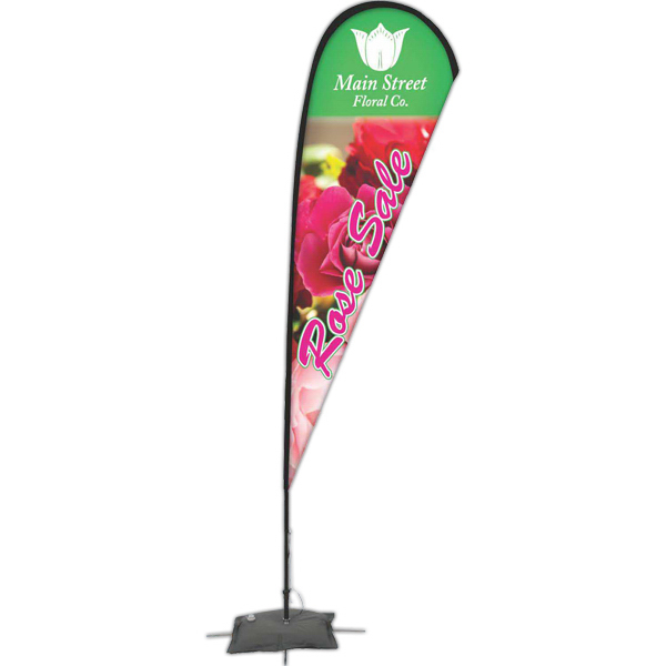 Promotional Promotional Flag With Scissor Base