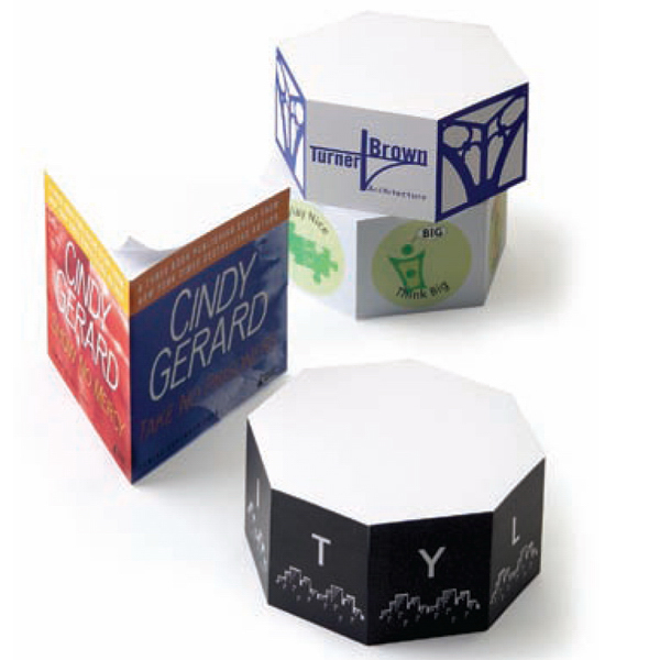 Imprinted Note Cube (R) Notepads