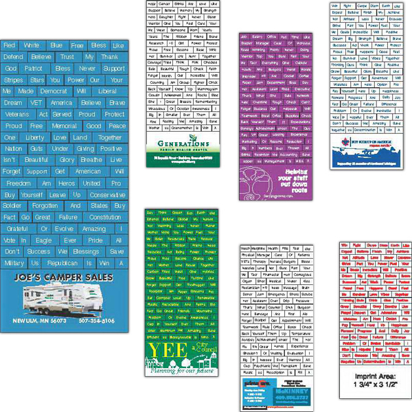 Personalized Message Magnet