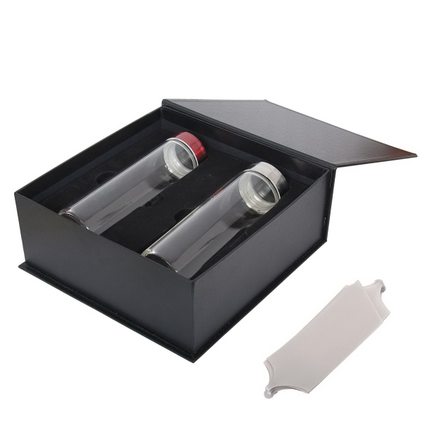 Glass Bottle Gift Set