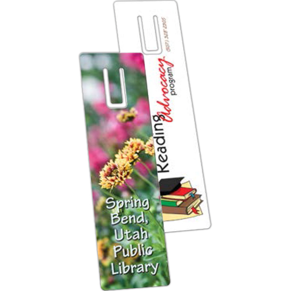 Custom Plastic Bookmark
