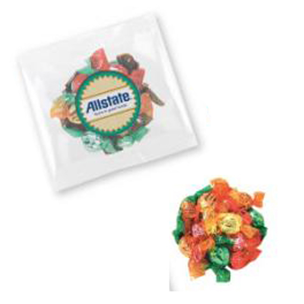 "Printed Sugar Free Candy in a 5"" x 5"" Bag"
