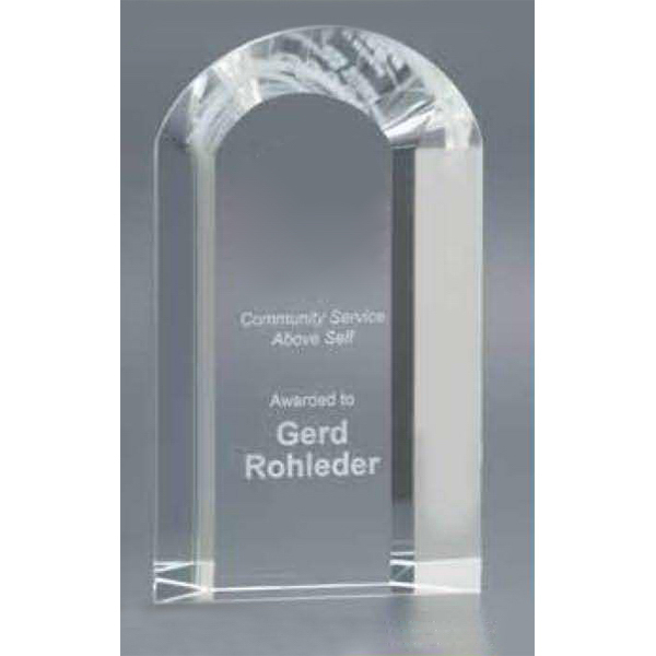 Imprinted 3D Arch Award