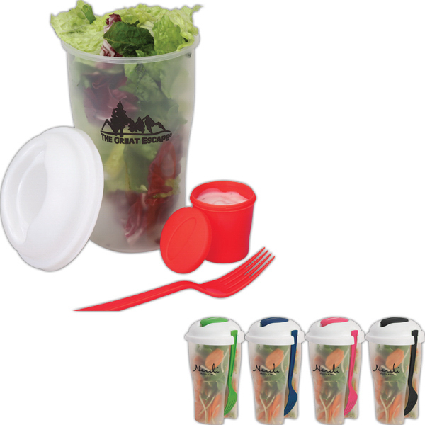 Personalized 32 oz Salad Cup