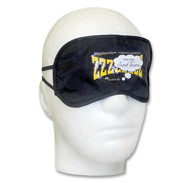 Customized Multi-Color Print Sleep Mask