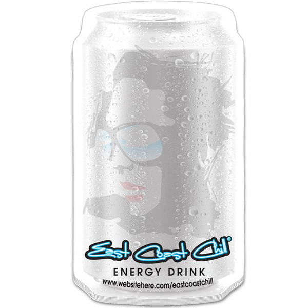 "Customized Stik-ON (R) Adhesive Notes - Beverage Can (2.8"" x 4.9"")"