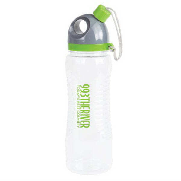 Groove Water Bottle; 27 oz