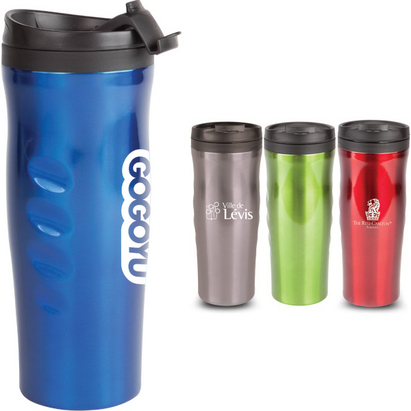 The Ergonomic Double Walled Stainless Steel Tumbler 16 oz