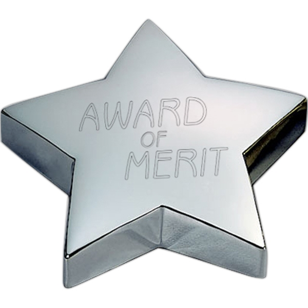 Promotional Stellar Paperweight