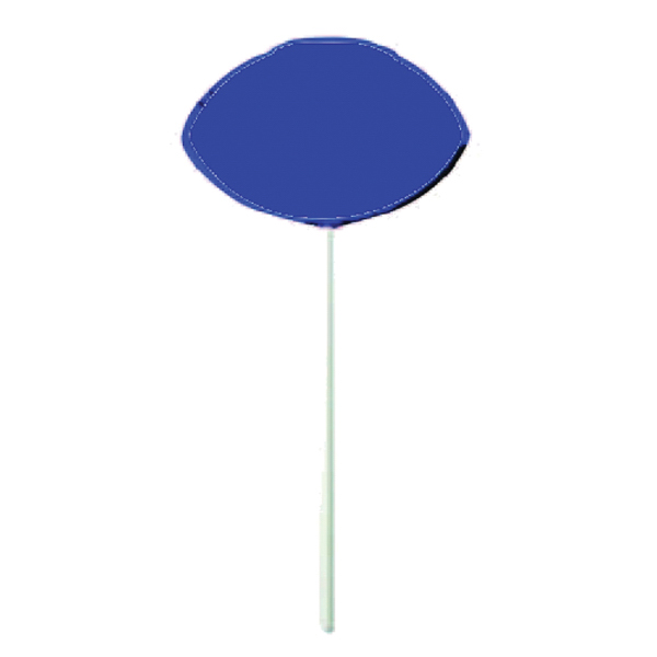 Promotional Blue Football Lollipop