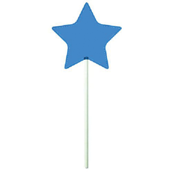 Printed Blue Star Lollipop