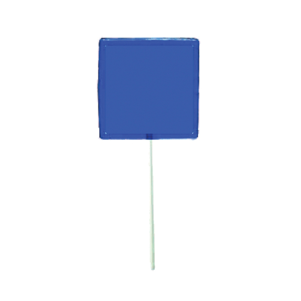 Personalized Blue Square Lollipop