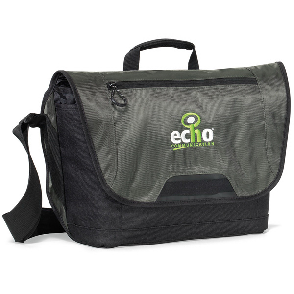 Printed Sync Computer Messenger Bag