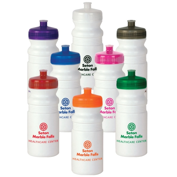 20 oz. White MegaMouth Water Bottle - Mega Special