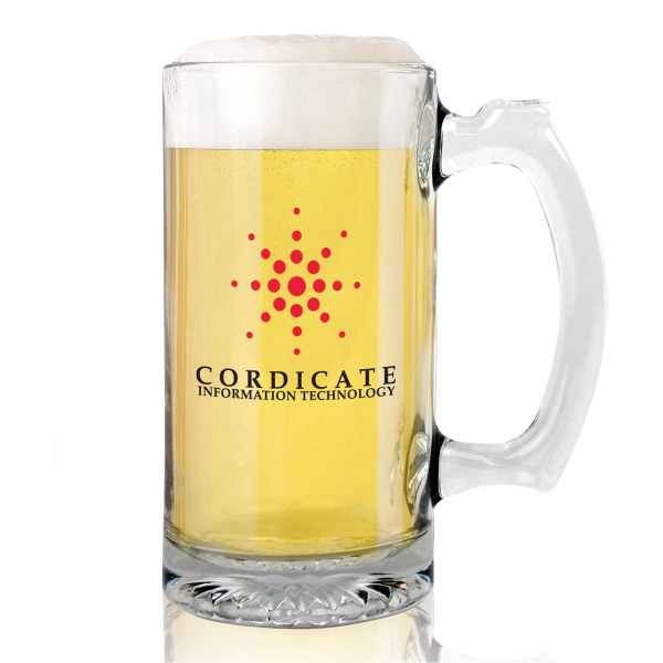 13 oz. Glass Sport Mug with Handle - Mega Special