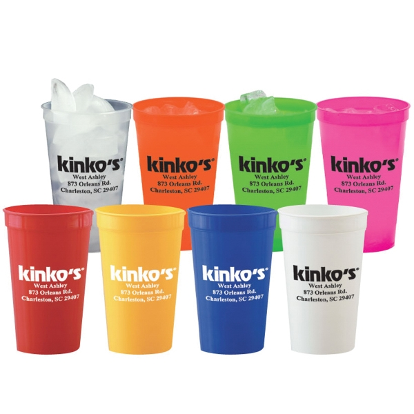22 oz. Stadium Cups - Solid Colors Mega Deal