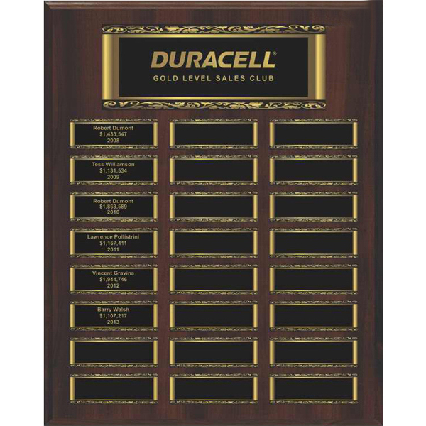 Large Easy Perpetual Plaque