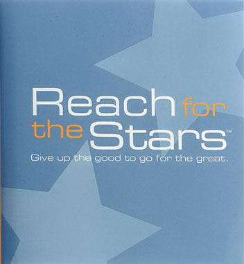 Imprinted Reach for the Stars - A Gift of Inspiration Quotation Book