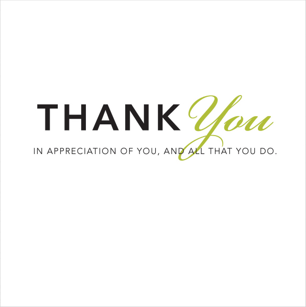 Customized Thank You - A Gift of Inspiration Quotation Book
