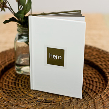 Imprinted Hero - A Good Life Serious Quotation Book