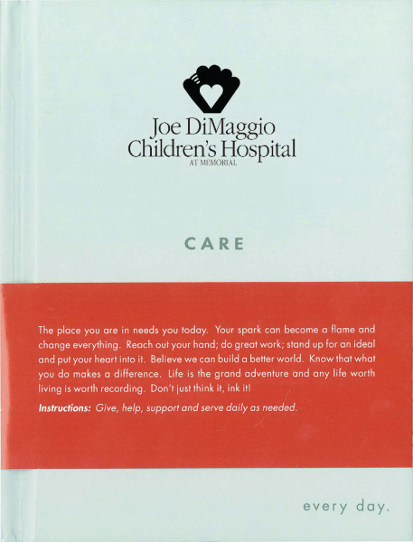 Promotional SOUL Journal - CARE