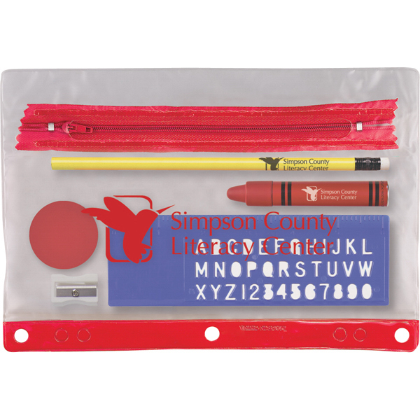 Personalized Notebook Mate School Kit with iCrayon Stylus